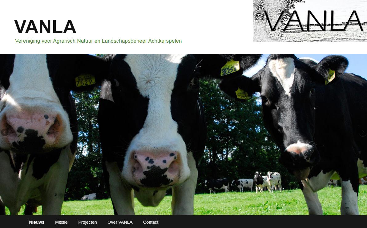 Website VANLA